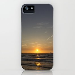 Lonely Sunset iPhone Case