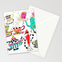 Coffee or Tea? Stationery Cards
