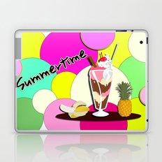 Summertime fruit drink Laptop & iPad Skin