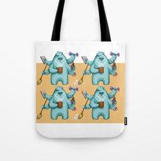 Multitasking Monster Tote Bag