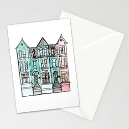 DC Row House No. 2 II U Street Stationery Cards