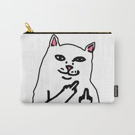 grumpy f**k you cat Carry-All Pouch