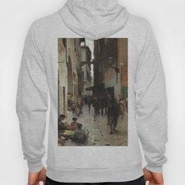 Ghetto Di Firenze 1882 By Telemaco Signorini   Reproduction   Italian Painter Hoody