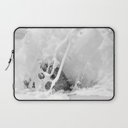 The Shore (Black and White) Laptop Sleeve