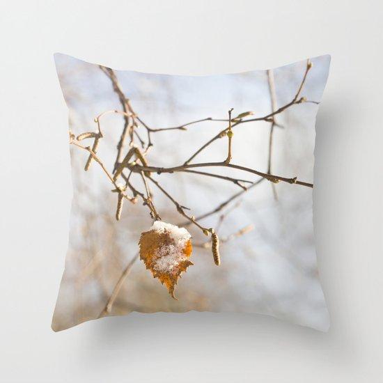 Winter wonders Throw Pillow