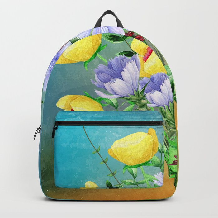 Flowers bouquet #21 Backpack