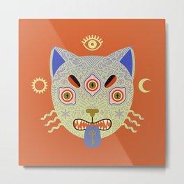 Mystic Cat Metal Print