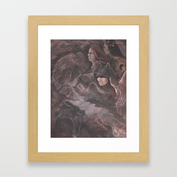 Early Morning Hunters Framed Art Print