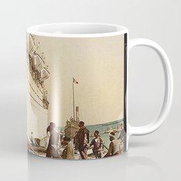 Boarding the Ship - vintage photograph Coffee Mug