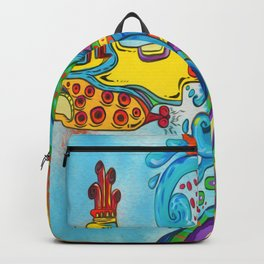 The Yellow Submarine Backpack