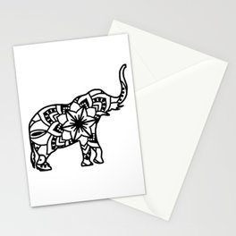 Elephant Mandala Stationery Cards