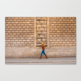 The Barcelona Stride Canvas Print