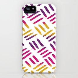 Sunset Stitch iPhone Case