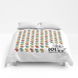 101 dalmartians Comforters