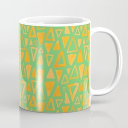 Triangles Pattern Coffee Mug