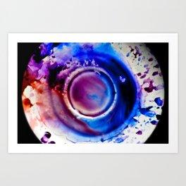 Colour Splash Art Print