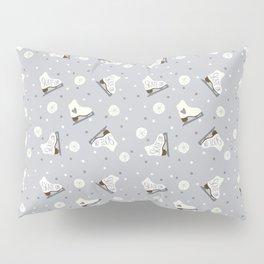 Skate On (Grey version) Pillow Sham