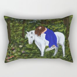 Temptress in the Forest Rectangular Pillow
