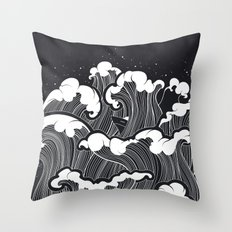 Storming Mind Throw Pillow