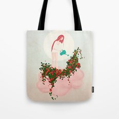 ...so this is why it rains! Tote Bag