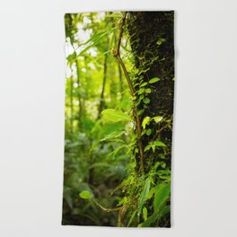 Trunk of the Jungle Beach Towel