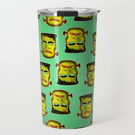 Frankenstein Monster Mask Travel Mug