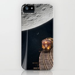 Moon Ride iPhone Case