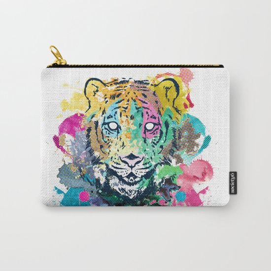 Tiger Splash Carry-All Pouch