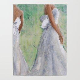 Green Mirror Bride Poster