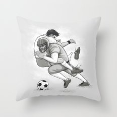 This is Football! Throw Pillow