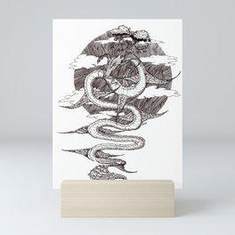 Sky Dragon Mini Art Print