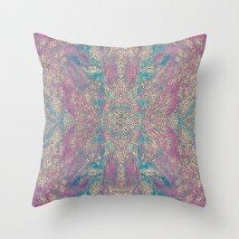 Opulent garden Throw Pillow