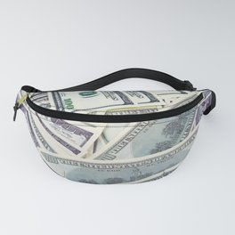 American money $100 banknotes Fanny Pack