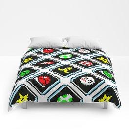 Super Mario Kart | items pattern Comforters