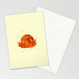 Fiery Fox Stationery Cards