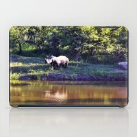 rhino iPad Cases featuring Rhino  by Art-Motiva