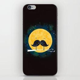 Moonstache iPhone Skin