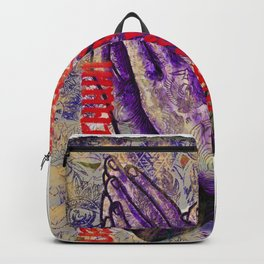 Classic Praying Hands Backpack