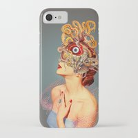 freud iPhone & iPod Cases featuring Freud vs Jung by Eugenia Loli