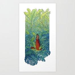 Book of Secrets Art Print