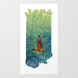 Book of Secrets Art Print