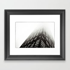 Chicago Hancock Tower Framed Art Print