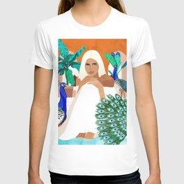 Indian Vacay #illustration #painting T-shirt
