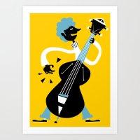 bass Art Prints featuring Bass by Arthur Porto