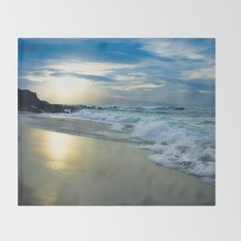 One Dream Sunset Hookipa Beach Maui Hawaii Throw Blanket