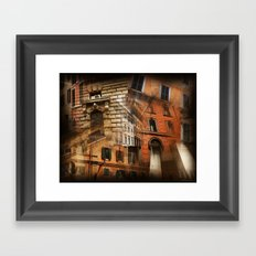 Rome Architecture Framed Art Print