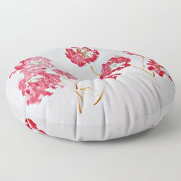 In The Lover's Garden Floor Pillow