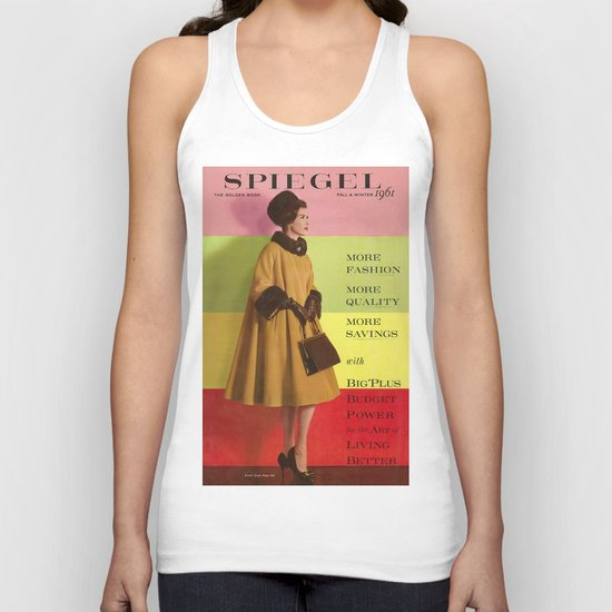 1961 Fall/Winter Catalog Cover Unisex Tank Top