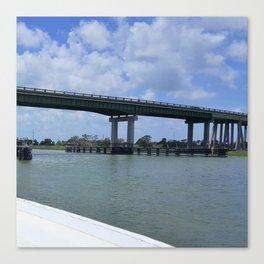 Tybee Island Bridge Canvas Print