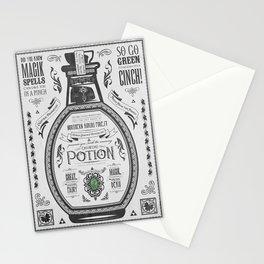 Legend of Zelda Green Chu Potion Advertisement Stationery Cards